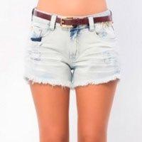 short jeans delave