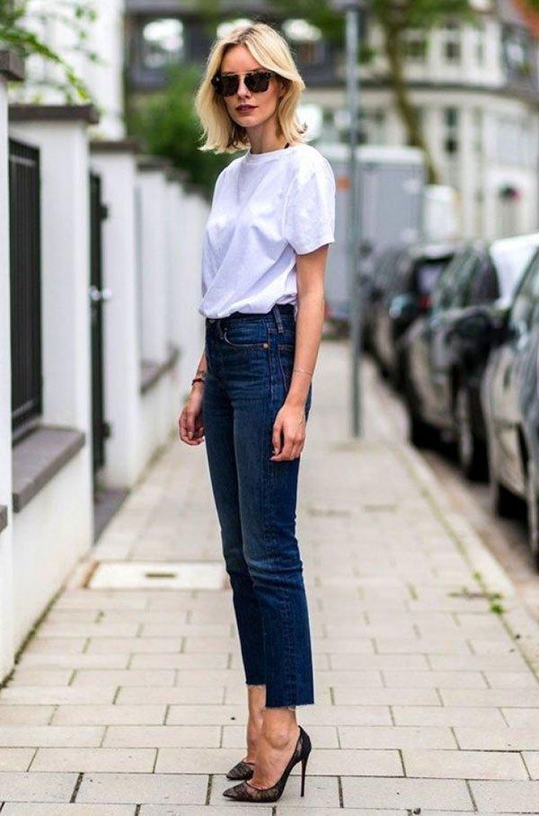 279a258bd0 7 vezes que o combo camiseta branca + calça jeans foi cool » STEAL ...