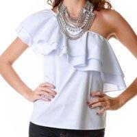 blusa ombro único