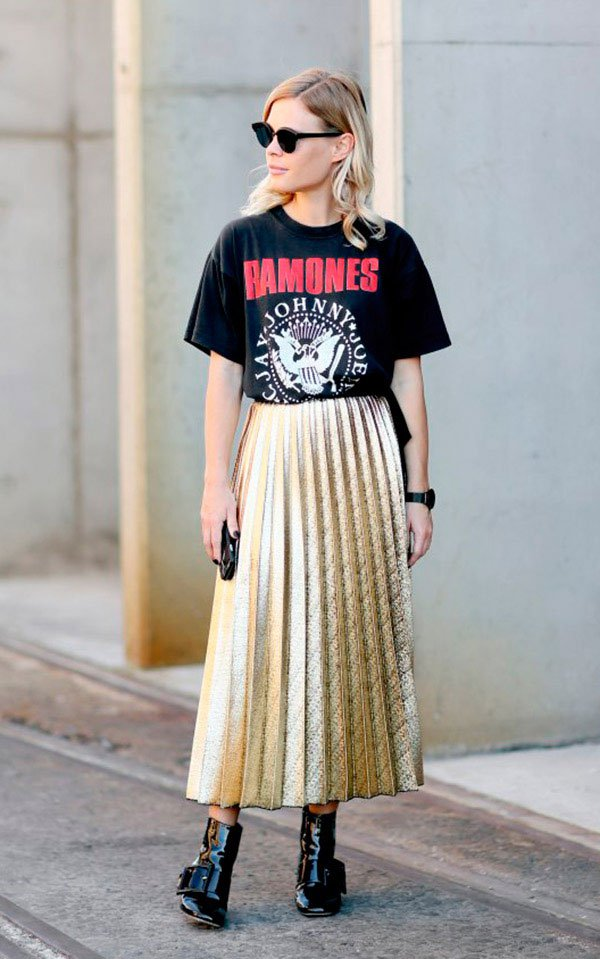 57710c481 They're Back: Plissados Metálicos » STEAL THE LOOK