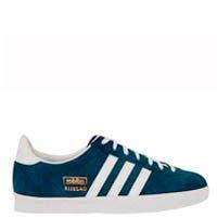 tênis azul adidas