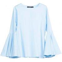 camisa manga flare
