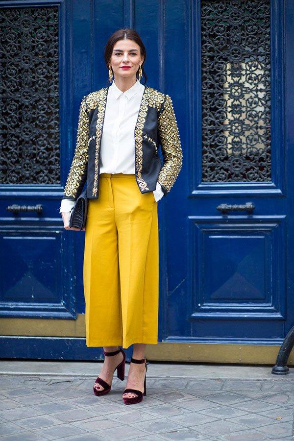 culotte amarelo