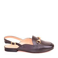 mule open loafer mocassim