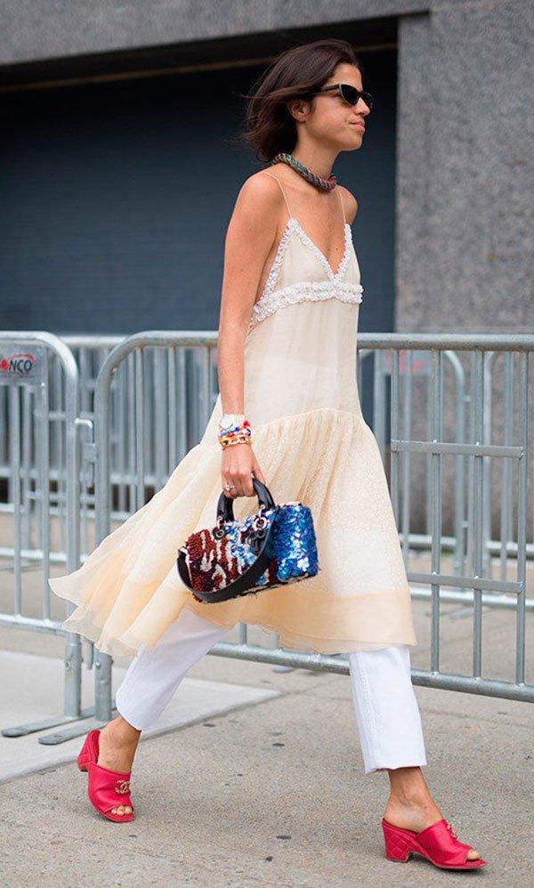 Street style look Leandra Medine