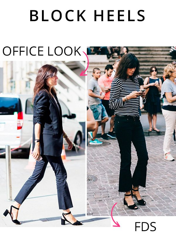 block heels office look - fds