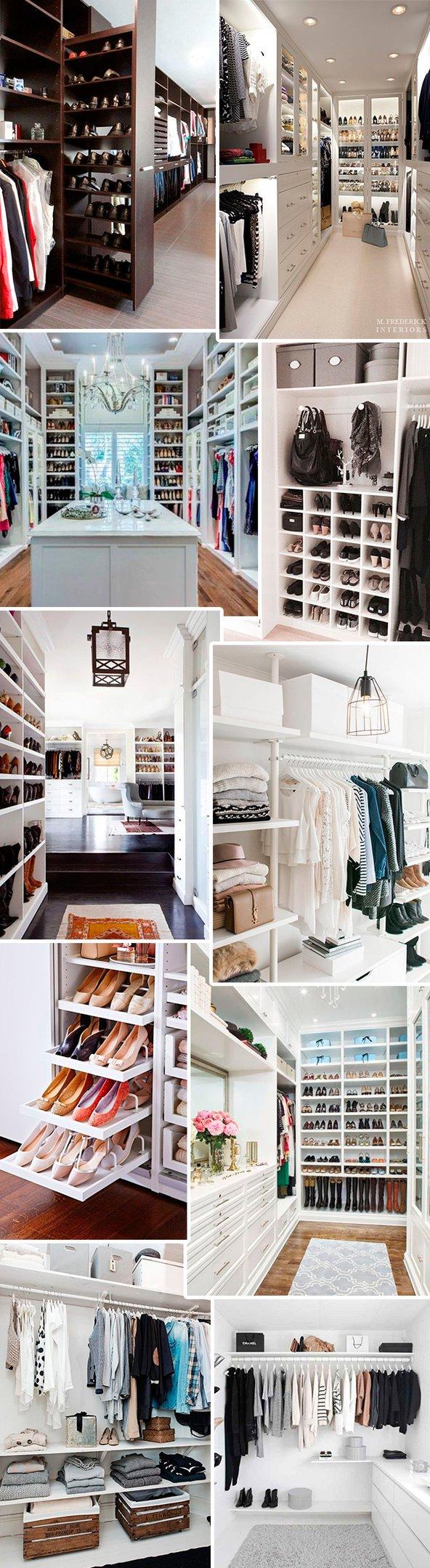 closets pinterest