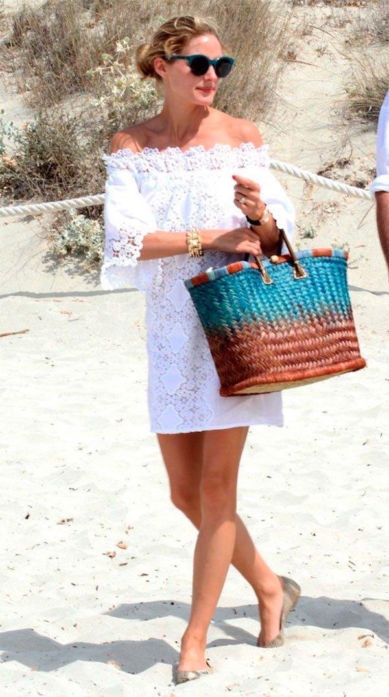 Look praia Olivia Palermo