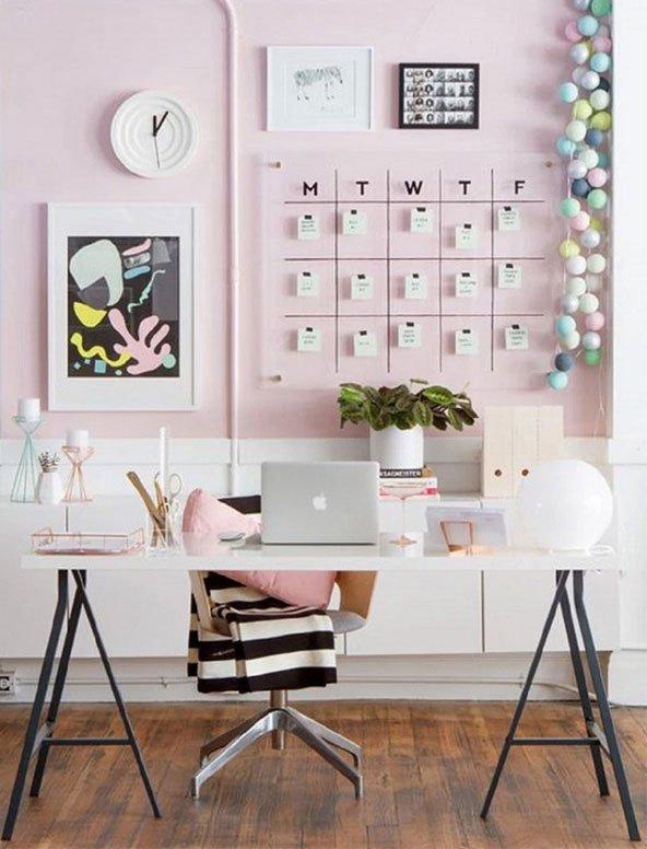 Home Office decoração.