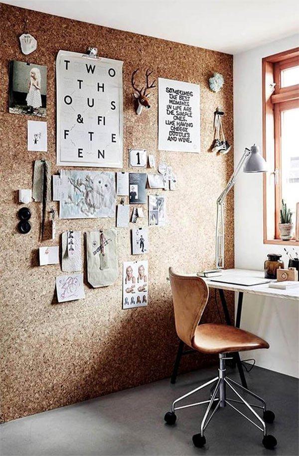 Home Office de coração.