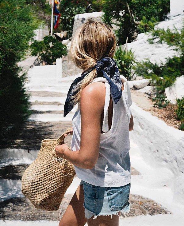 5 maneiras atuais de usar lenços