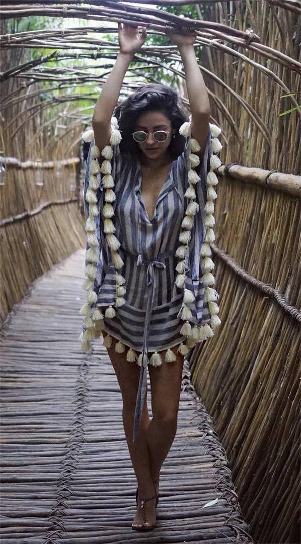 Street style look Shay Mitchell