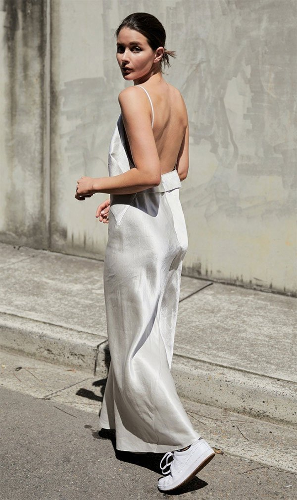 Street style look Sarah Donaldson