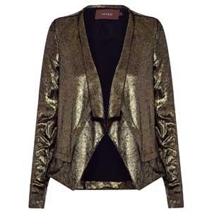 casaco metalizado