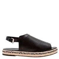 sandália flatform rasteira
