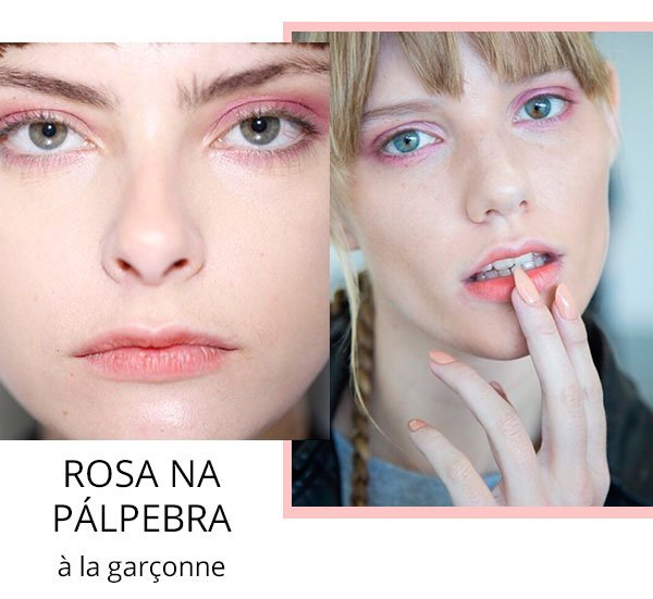 make up spfw 2017 a la garconne