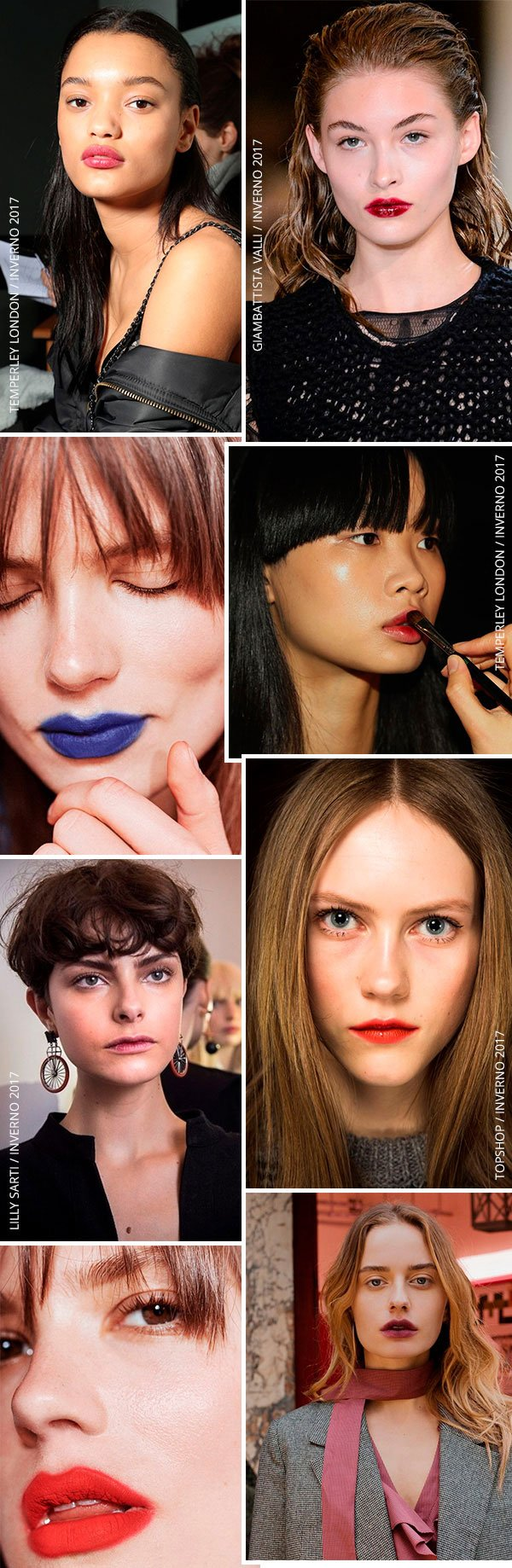 Beauty Trend: Batom borradinho