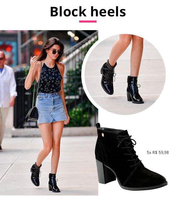 block heels loucos e santos