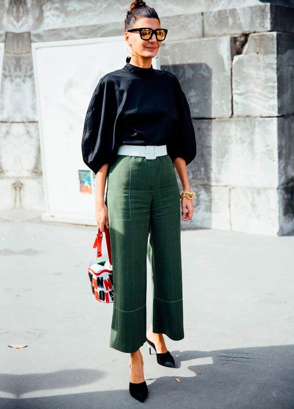 calça culotte: como usar
