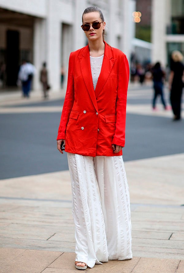 look all red é tendencia