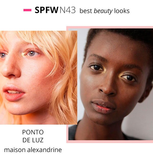 maison alexandrine spfw make up 2017