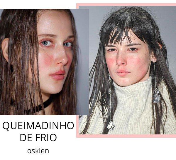 osklen spfw makeup 2017