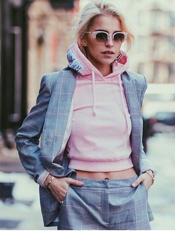 Street style look Caroline Daur