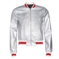 Jaqueta Bomber Leather
