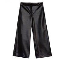calça culotte couro