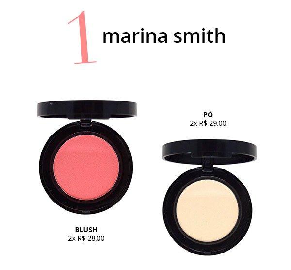 marina smith maquiagem