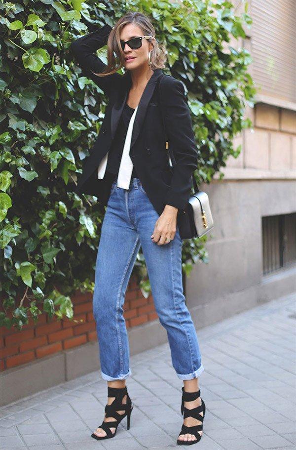 84b08bd39e 7 Maneiras de usar calça jeans + blazer » STEAL THE LOOK