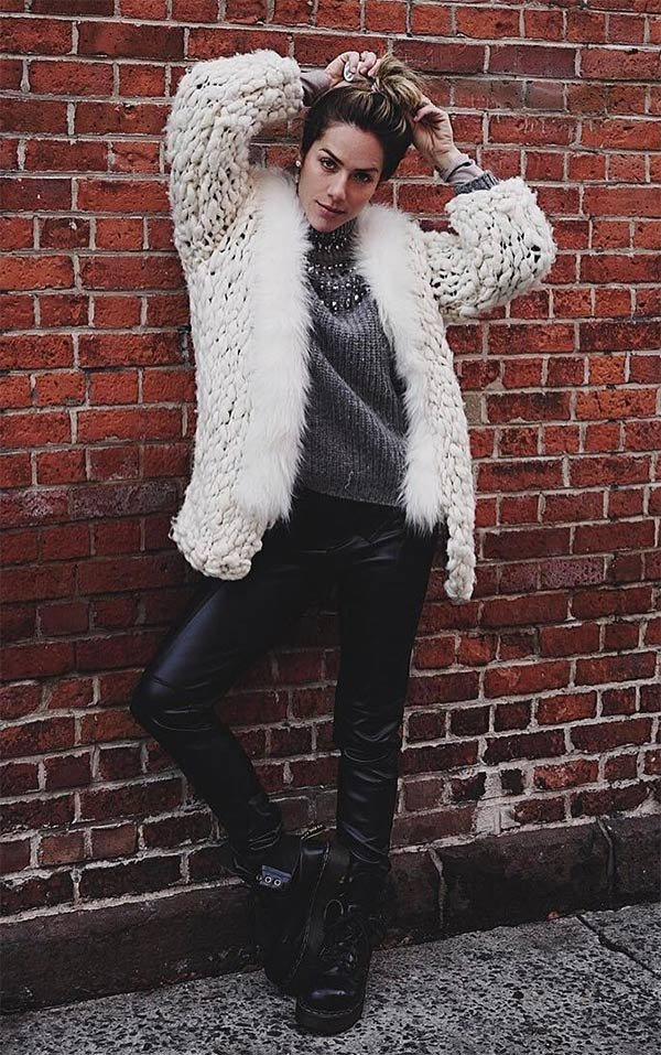 Street style look Giovanna Ewbank