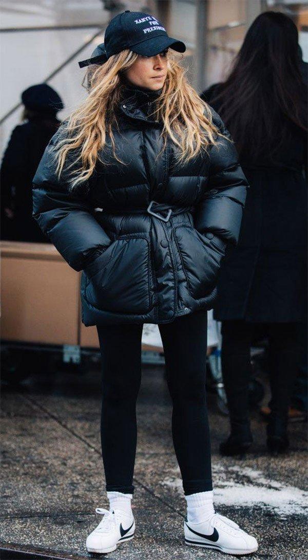 Street style look Miroslava Duma