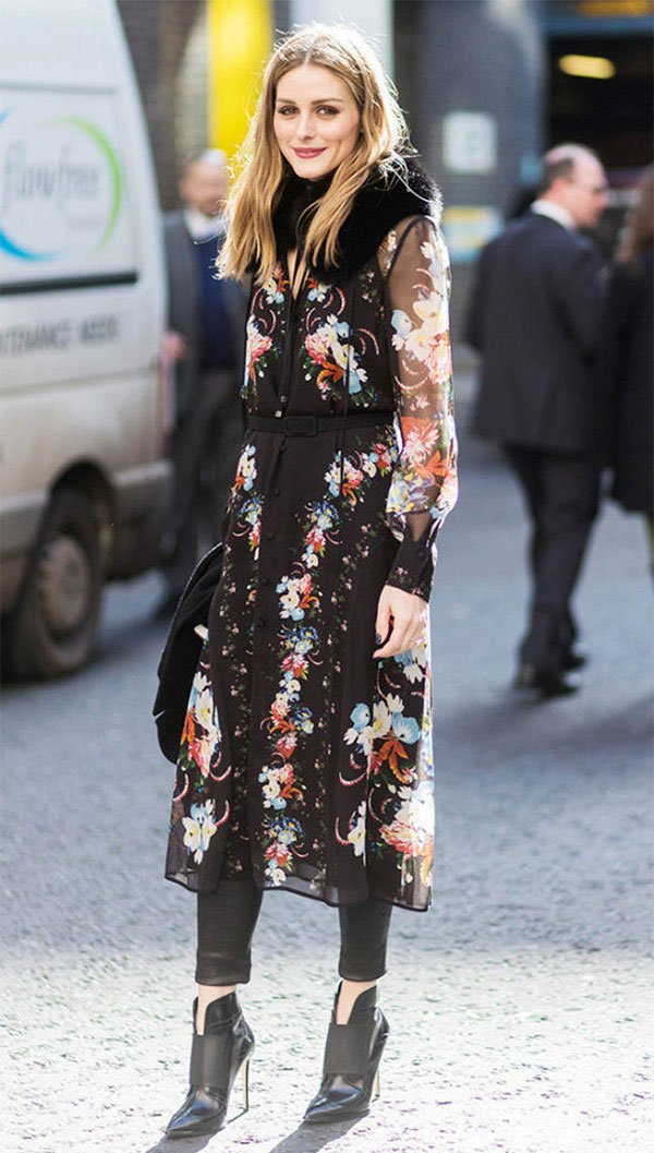 Street style look Olivia Palermo.