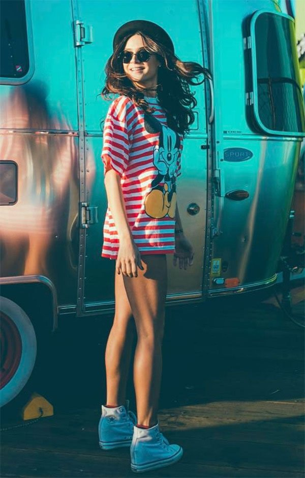 Street style look Thaila Ayala