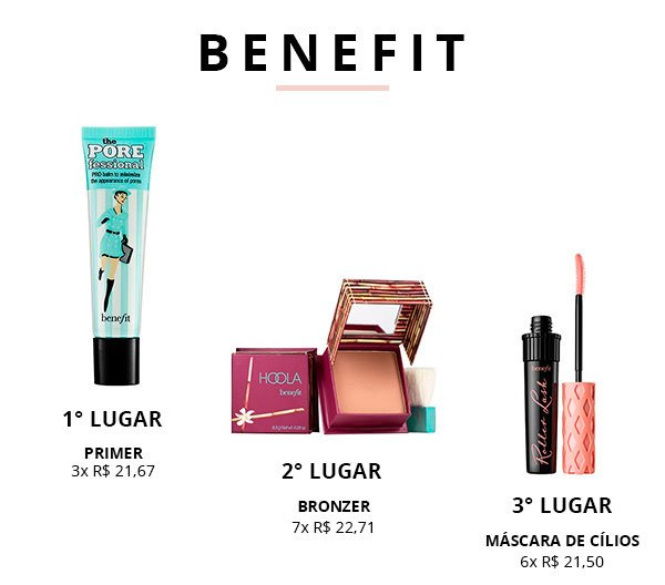 benefit top 3