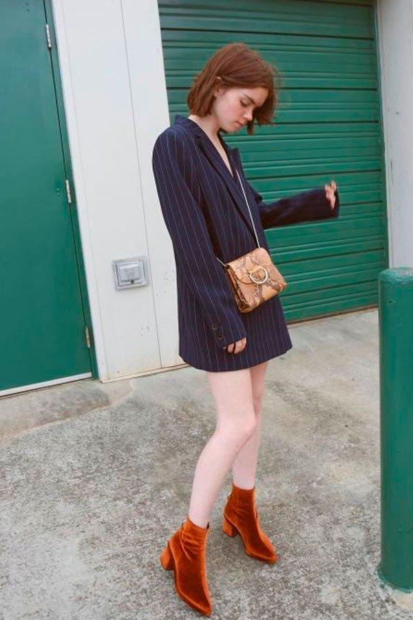 blazer como vestido
