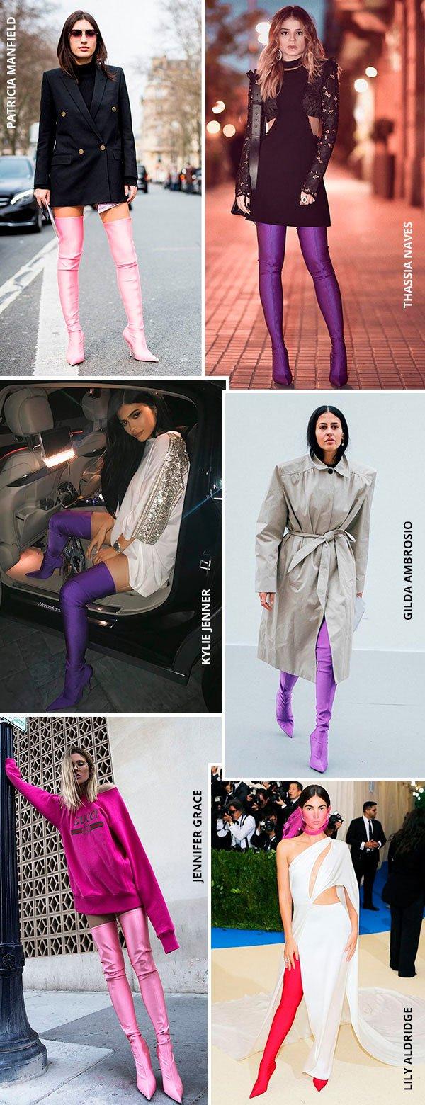 As fashion girls só querem saber dessa bota