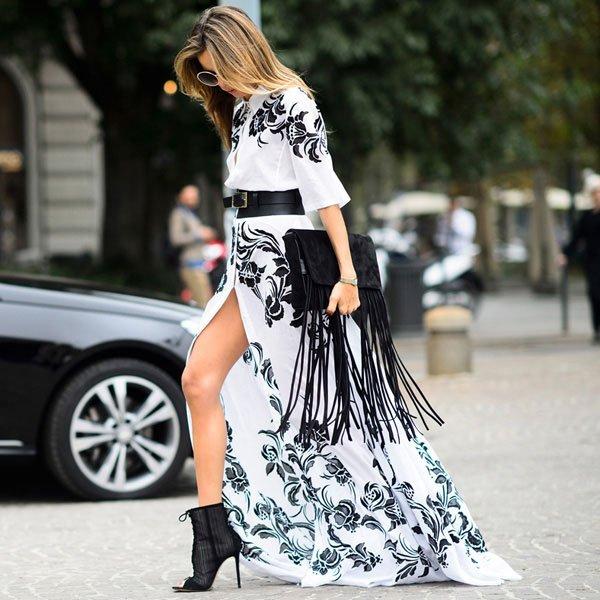 vestido amplo