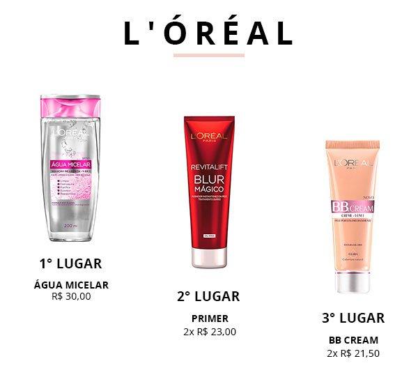 loreal top 3