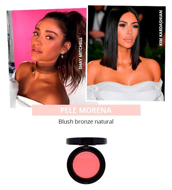 O blush perfeito para cada tom de pele