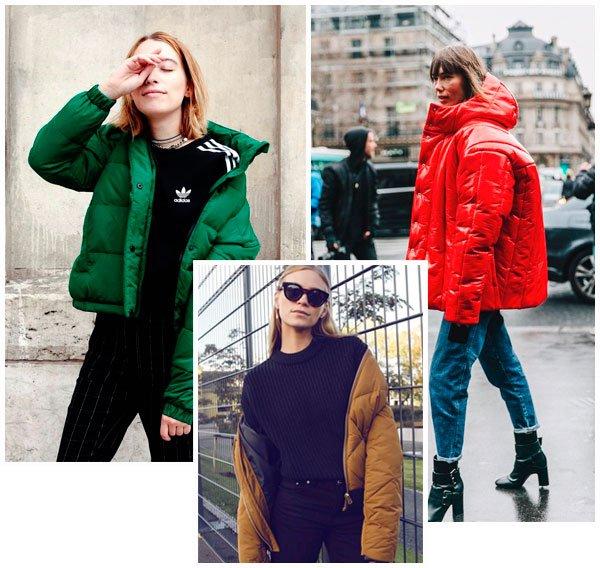 Puffy jackets