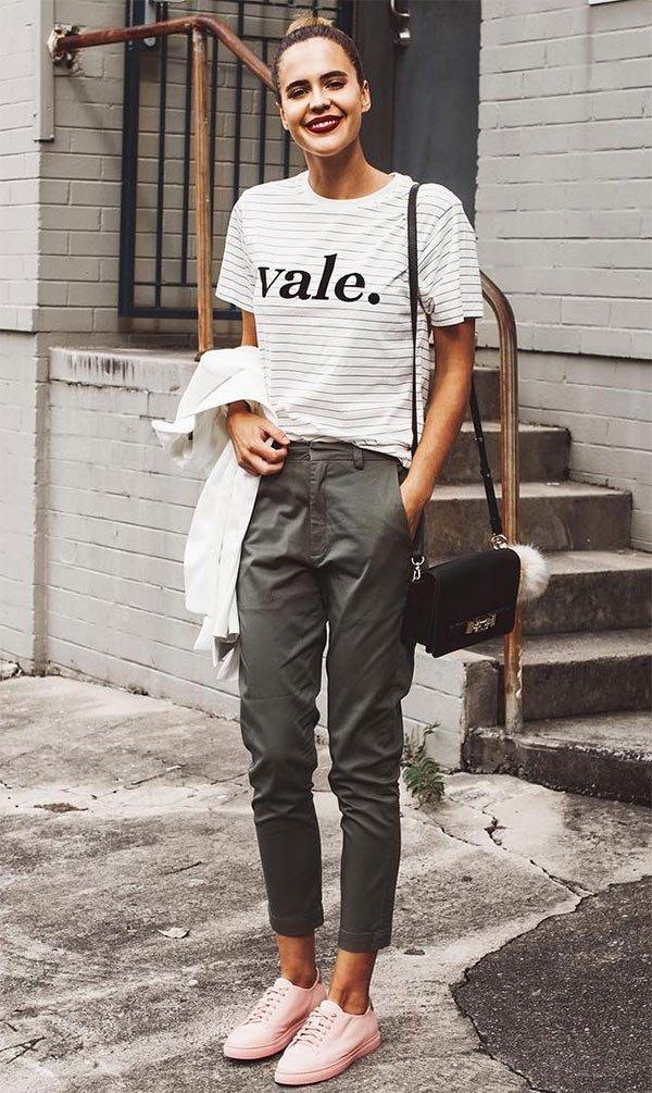 Street style look Ally Brooke