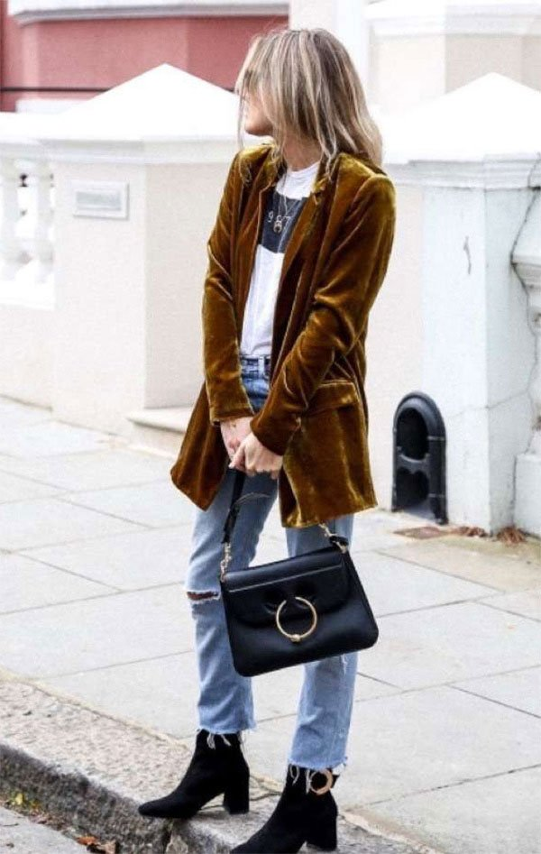 Street style look Lucy Williams.