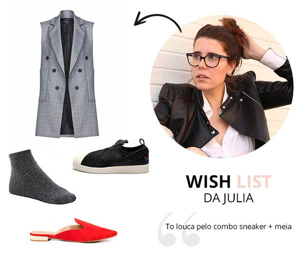 WIsh List de Maio julia albuqueruqe