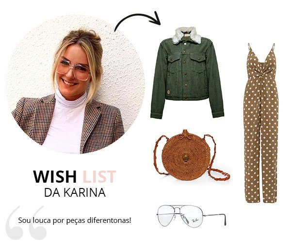 WIsh List de Maio das looks stealers
