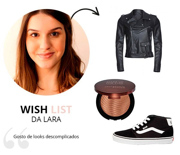WIsh List de Maio de lara lincoln