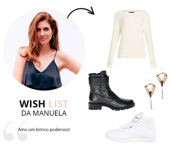 WIsh List de Maio da manuela bordasch