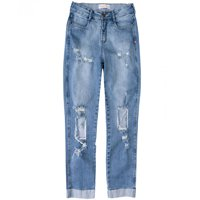 Calça Jeans Destroyed Boyfriend Dzarm