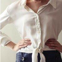 Camisa Mia Tamanho: 36 - Cor: Off White